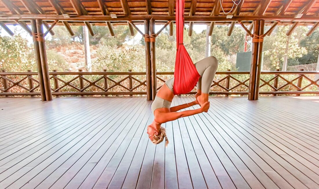 aerial pilates workout